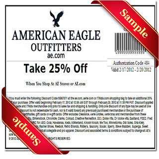 american eagle coupon 2013
