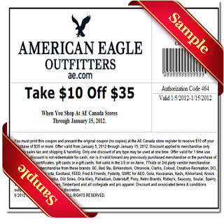 american eagle coupons June 2016