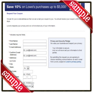 Lowe's offers a 10% military discount to support the men and women who are currently serving our country in the Armed Services. The 10% discount is also good for retired veterans and VA recipients as well as immediate family of those who are currently serving, retired veterans, or VA recipients.