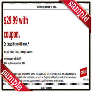 $29 Staple Coupon Printable for April