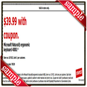 $39 Staple Coupon Printable for April