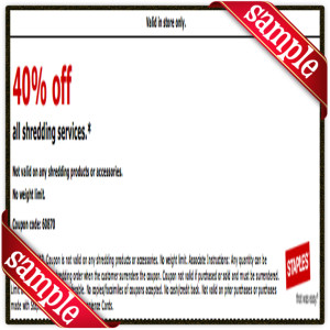 40% Off Staple Coupon Printable for December 2016