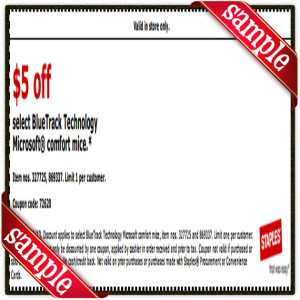 $5 Off Staple Coupon Printable for April