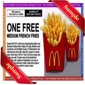 Mcdo Coupons 2013