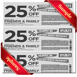 Sports authority coupon 2013