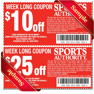 Coupon code sports authority
