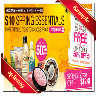 The Body Shop Printable Coupons 2015