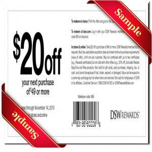 dsw coupon 2016
