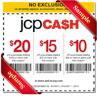 jcpenney free printable coupon 2013
