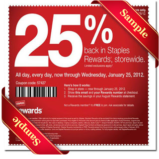 staples coupon June 2015