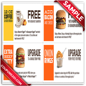 A&W Printable Coupons
