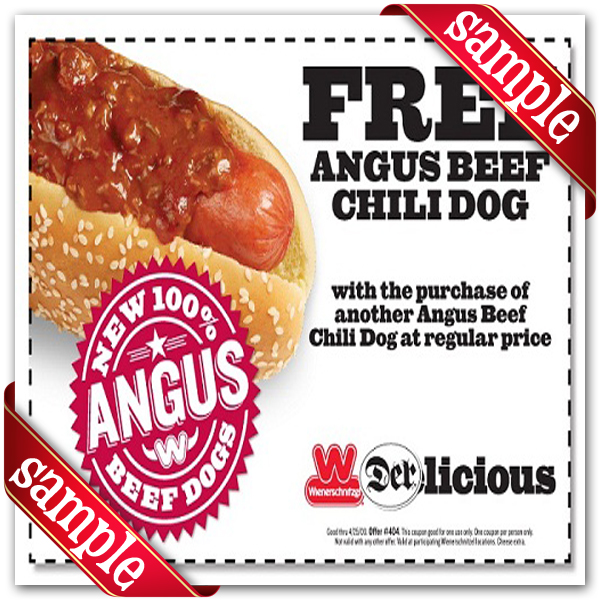 It's just a graphic of Impeccable Printable Wienerschnitzel Coupons