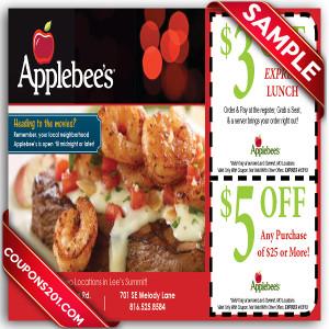 Applebees Coupon
