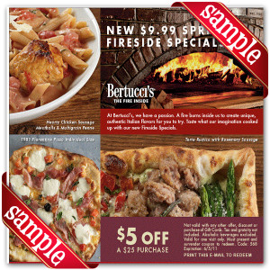 Bertuccis Online Coupons