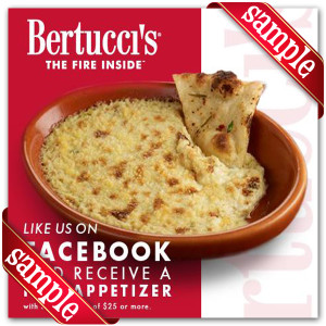 Bertuccis Promo 2014