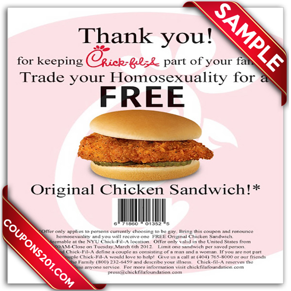 image relating to Printable Chick-fil-a Coupons titled Chick-Fil-A Printable Coupon December 2016