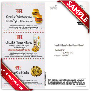 photograph regarding Printable Chick-fil-a Coupons titled Coupon codes for chick fil a : American lady coupon code