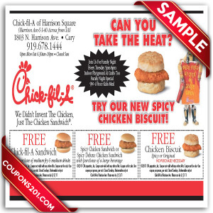 Coupon Chick-Fil-A