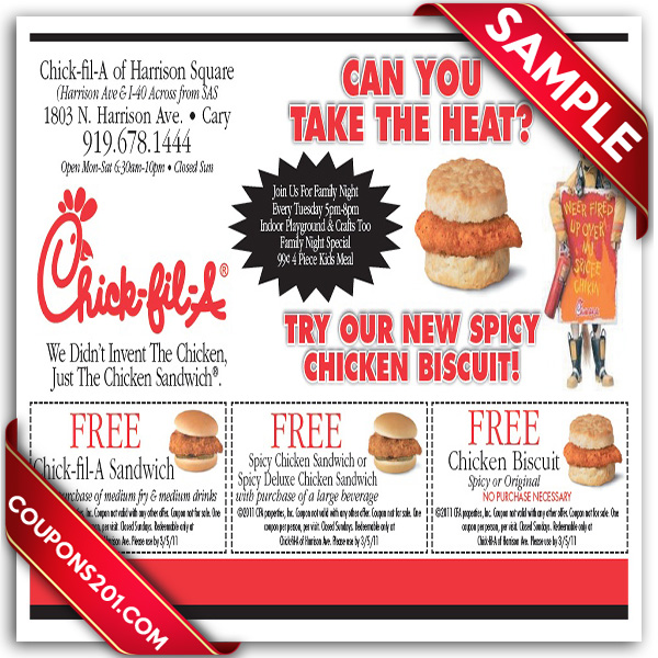 chick fil a product price place promotion The chain is offering the food to promote its new app, called chick-fil-a one, which launched on wednesday the chain is offering the food to promote its new app.