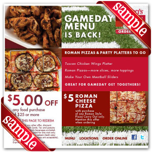 Coupon For Bertuccis Printable