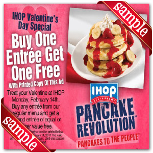 Coupon For Ihop Printable
