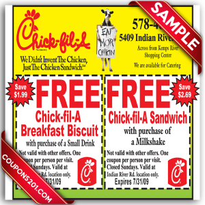 graphic regarding Chickfila Printable Coupons identified as Free of charge printable discount codes for chick fil a - American woman