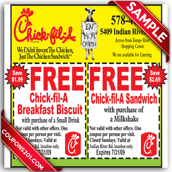 chick fil a coupons november