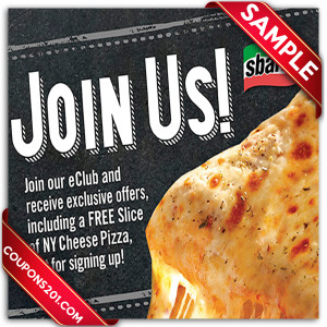 Coupons Sbarro
