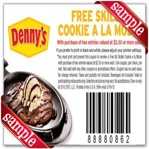 Dennys coupons december 2019