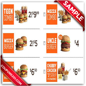 Free A&W Coupons