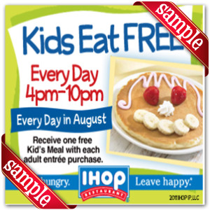 photo relating to Printable Ihop Coupon known as Ihop Discount coupons 2014 Printable