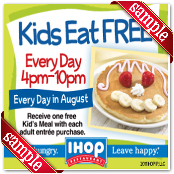 2016 Printable Ihop Coupons