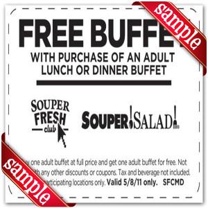 Free Printable Souper Salad Coupons
