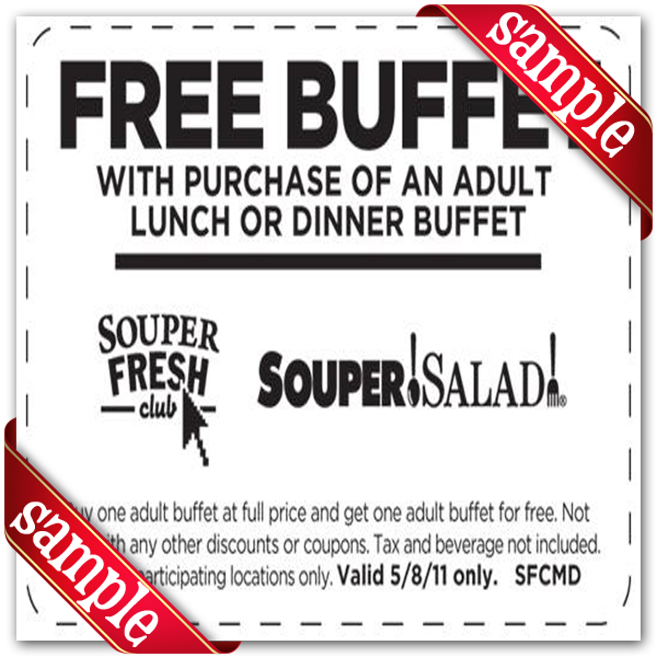 Verified Souper Salad Promo Codes & Coupons