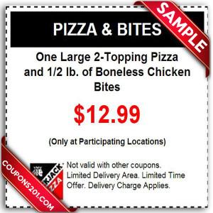 Free printable coupons BlackJack Pizza