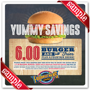 Fuddruckers Coupon 2015