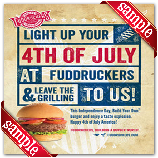 photograph relating to Fuddruckers Coupons Printable called Fuddruckers Printable Coupon December 2016