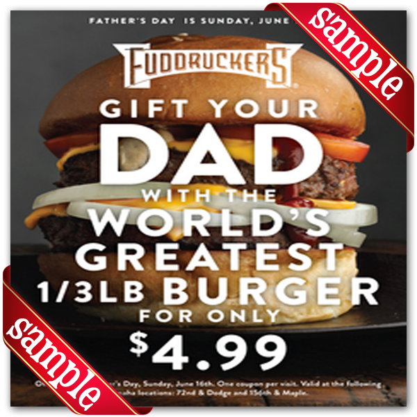 photo about Fuddruckers Coupons Printable named Fuddruckers Printable Coupon December 2016