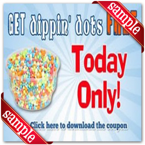 Get Free Printable Dippin Dots Coupon Online