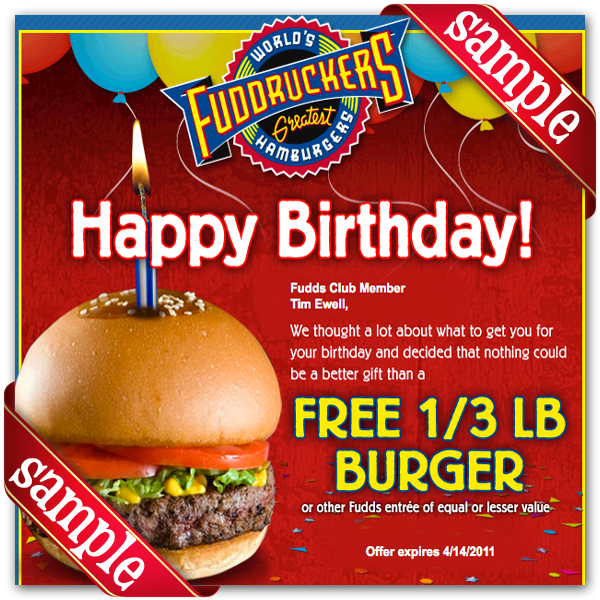 picture about Printable Southwest Drink Coupons identify Fuddruckers coupon 2018 / Bjs participants discount codes