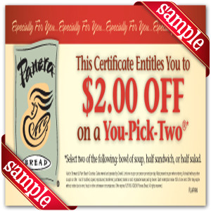 Get Free Printable Panera Bread Coupon Online