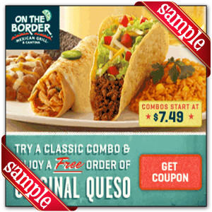 Get Free Printable on the border Coupon Online
