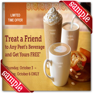 Get Printable Peet's Coffee & Tea Coupons