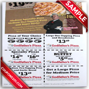 Godfather's pizza Coupon