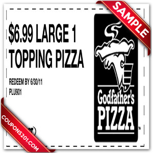 Godfather's pizza printable coupons