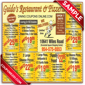 Guido's Pizza Coupon