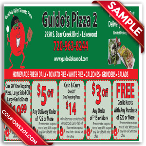 Guido's Pizza free printable coupons