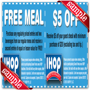 Ihop Off Coupon 2016