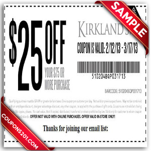 Kirklands coupon for free