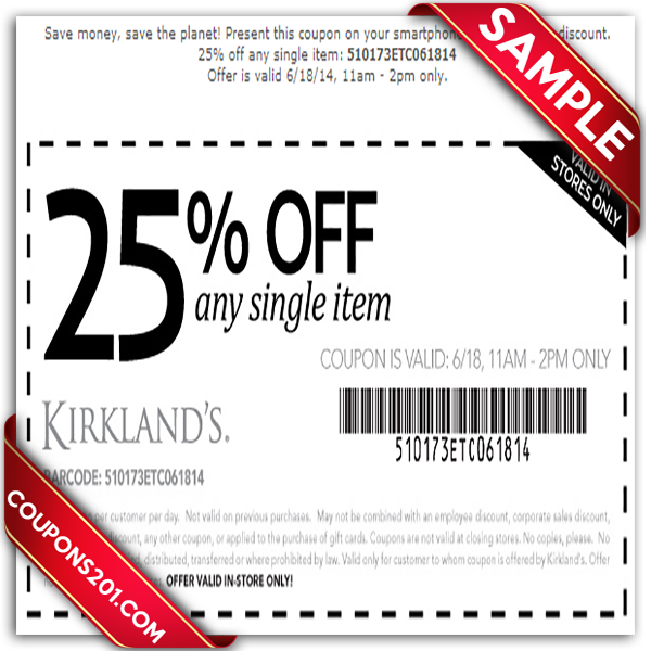 What are the best Kirklands coupons? Kirklands rotate their printable coupons and promo codes offer every now and then but the most popular offers gets you at least $10 or % off your purchase (sometimes requires a purchase minimum).